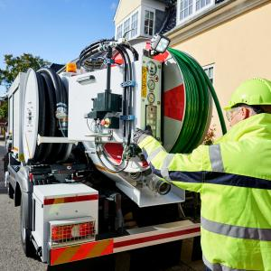 CityFlex 204 Comfort combination sewer cleaning unit UK IE