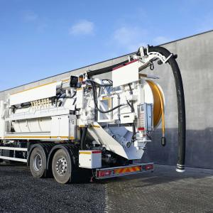 RECycler® 312 Recycler sewer cleaning unit UK IE