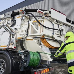 SuperRECycler® 414 Recycler sewer cleaning unit UK IE